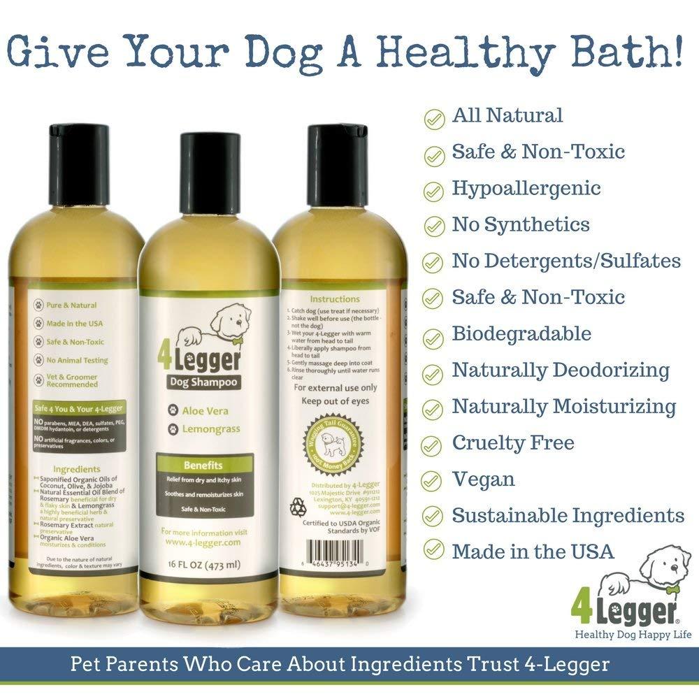 4Legger Organic Dog Shampoo
