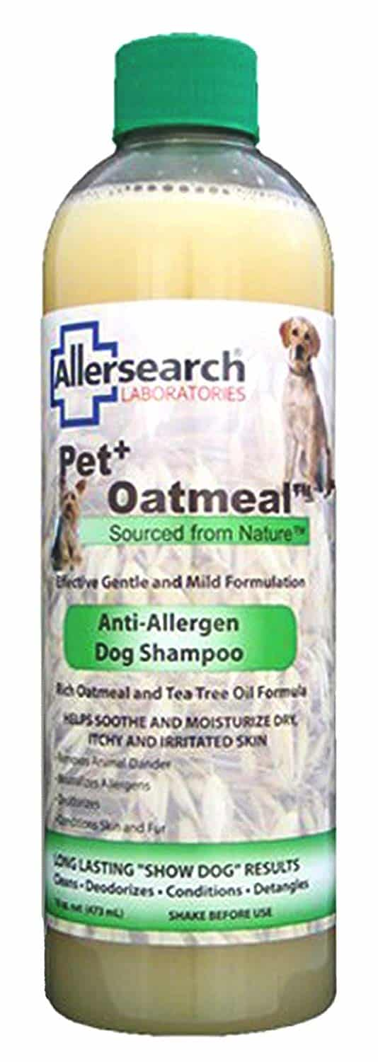 Allersearch Anti-Allergen Dog Shampoo