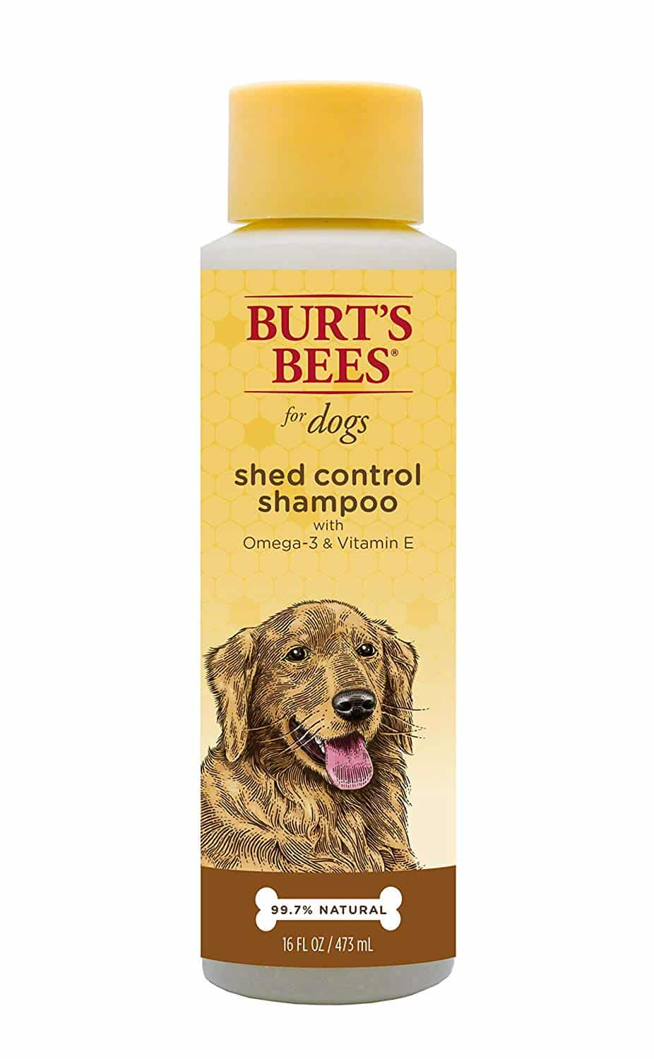 Burt's Bees All-Natural Shampoo- shed and odor control