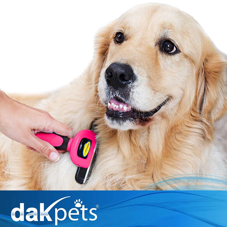 DakPets Dog De-shedding Brush
