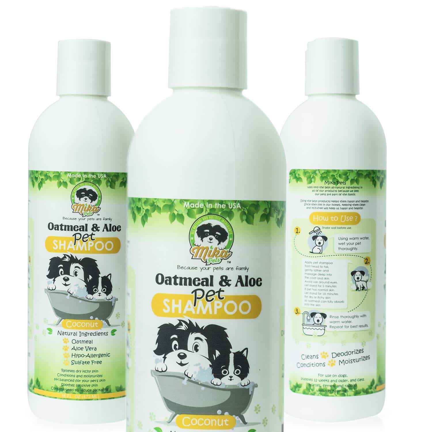 Natural Oatmeal Dog Shampoo