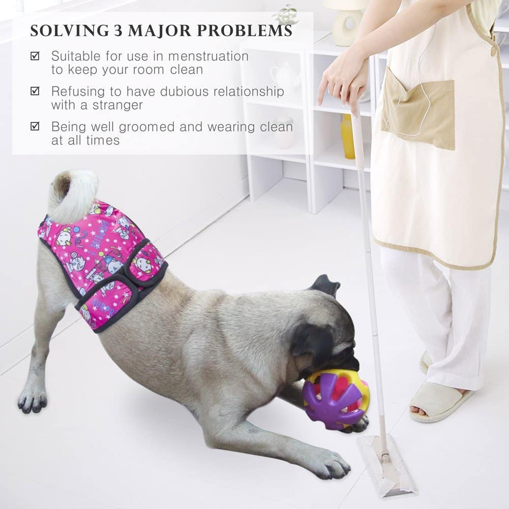 PETBABA Female Dog Diapers