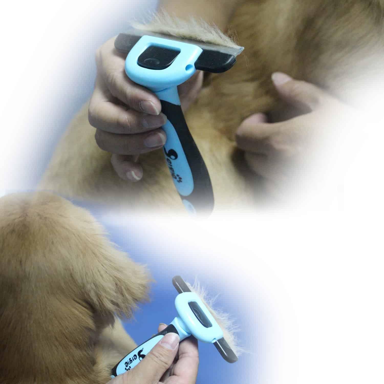 petgle Dog De-shedding Brush