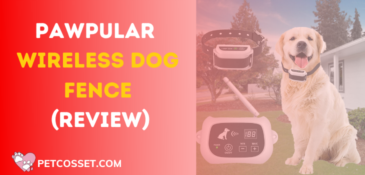 Pawpular Wireless Dog Fence For Hills