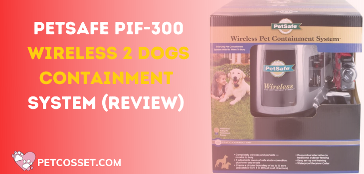 PetSafe PIF-300 Wireless 2 Dogs Containment System