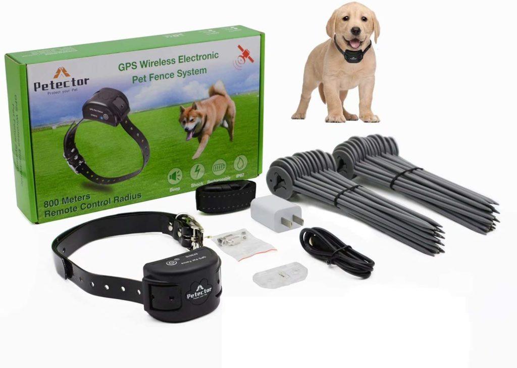 gps wireless dog fence